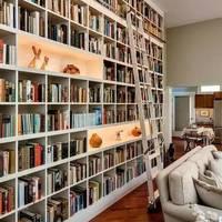 怎样安置各种书架,让家里越来越多的书有处可放?