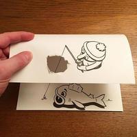 折折画画撕撕,A4纸也能玩出3D感