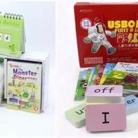 花生团推荐   点读版 Usborne《第一图书馆》,每个孩子都会有信心用好的英语启蒙必备读物