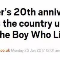 昨天,他20岁.... 英国上下,要被巫师们占领了...