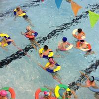 暑假学游泳(二)