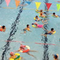 暑假学游泳(四)